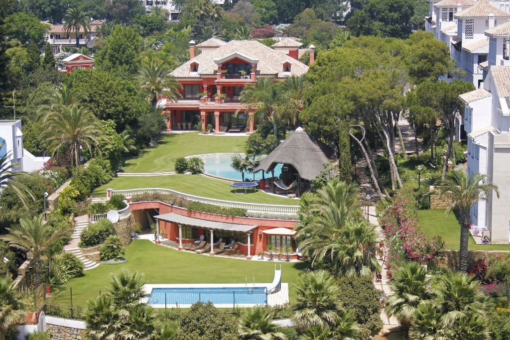 Villa La Loriana, Golden Mile, Marbella, Spain