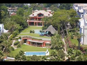 Villa La Loriana, Golden Mile, Marbella, Spain