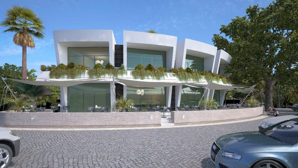 Commercial Center, Marbella, Spain