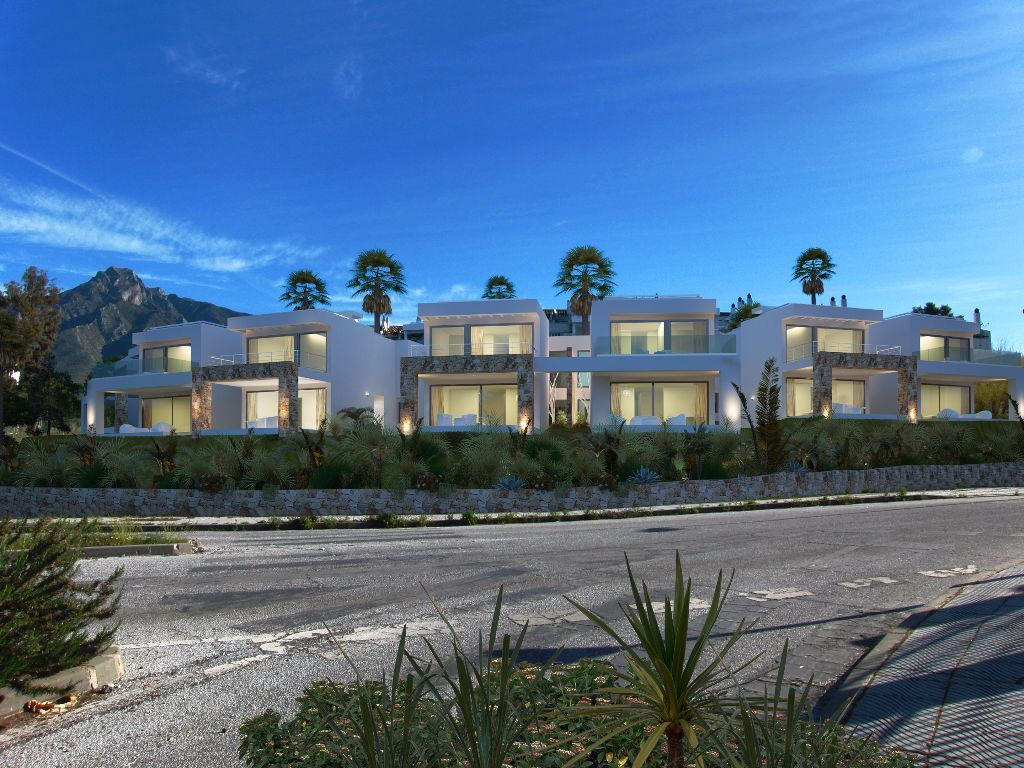 12 Townhouses, Golden Mile, Marbella, Spain